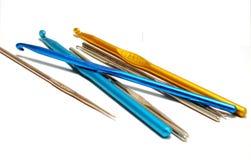 крюки вязания крючком Стоковое Фото