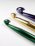 крюки вязания крючком Стоковые Фото
