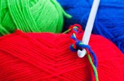 крюк вязания крючком стоковое фото