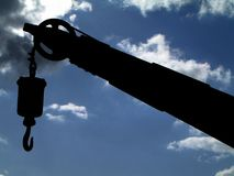 Крюк в гавани Стоковое Изображение RF