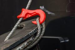 Крюк и кабель Стоковые Фотографии RF