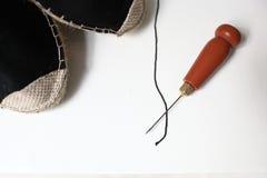 Крюк и нить стоковое изображение rf