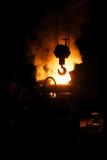 крюк крана делая сталь стоковые фото