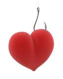 крюк сердца Стоковое Изображение RF
