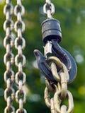 крюк цепей Стоковая Фотография