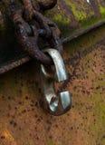 крюк для цепного блока Стоковая Фотография RF