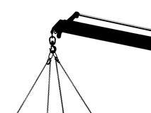 крюк для цепного блока Стоковая Фотография