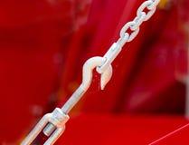 крюк для цепного блока Стоковые Фотографии RF