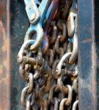 крюк для цепного блока Стоковые Изображения RF
