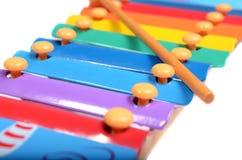 ксилофон детей s Стоковое Изображение