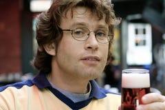 кто-нибудь пиво Стоковые Фотографии RF