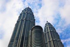 Куала Лумпур Малайзия возвышается близнец стоковые фото