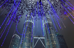 Куала Лумпур Малайзия возвышается близнец стоковая фотография