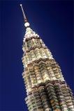 Куала Лумпур Малайзия возвышается близнец Стоковые Фотографии RF