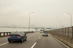 КУАЛА-ЛУМПУР МАЛАЙЗИЯ - 16-ое февраля 2017: На дороге к Kuala Lumpu Стоковые Фотографии RF