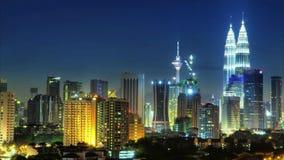 Куала Лумпур Малайзия акции видеоматериалы
