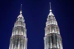 Куала Лумпур Малайзия petronas возвышается близнец Стоковое Фото