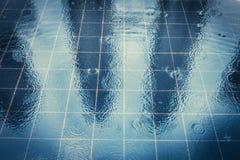 КУАЛА-ЛУМПУР - 15-ое февраля: Взгляд Башен Близнецы Petronas 1-ого февраля Стоковые Изображения