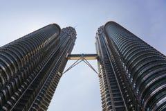 Куала Лумпур Малайзия возвышается близнец стоковые изображения