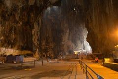Куала-Лумпур, Малайзия - 27-ое сентября: Туристы приходят посетить внутри Стоковые Изображения RF