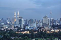 Куала Лумпур Малайзия Стоковые Изображения RF