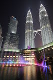 Куала Лумпур petronas возвышается близнец Стоковая Фотография