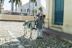 Куба Тринидад Стоковые Фото