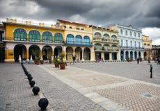 Куба Улицы старой Гаваны стоковое изображение