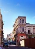 Куба Улицы старой Гаваны стоковые изображения