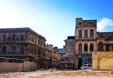 Куба Улицы старой Гаваны стоковая фотография rf