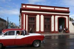 Куба, Cardenas, Oldtimer Стоковая Фотография