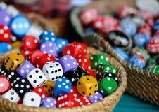 Кубики азартной игры стоковое фото rf