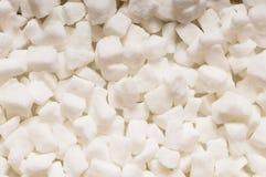 Кубики белого сахара стоковые изображения rf