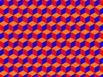 Кубики делают по образцу (вектор) бесплатная иллюстрация