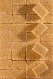 Кубики желтого сахарного песка стоковое фото rf