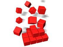 кубики здания Стоковое Изображение RF