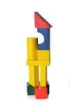 Кубики игрушки стоковое изображение rf