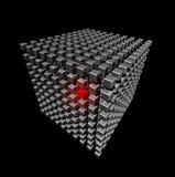 кубики кубика сделали малым Стоковые Фотографии RF