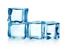 Кубики льда группы   стоковое фото