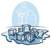 Кубики льда бесплатная иллюстрация