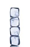 Кубики льда стоковая фотография rf