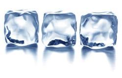 Кубики льда Стоковое Фото