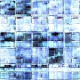 кубики морозят безшовную текстуру иллюстрация вектора