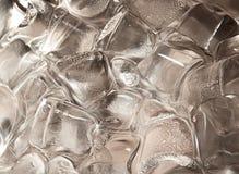 кубики морозят большой стоковое изображение rf