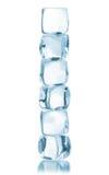 кубики морозят изолировано Стоковое Изображение RF