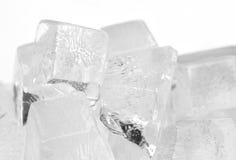 кубики морозят плавить стоковое фото rf