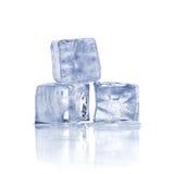 кубики морозят 3 Стоковая Фотография