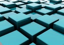 кубики организуя иллюстрация вектора