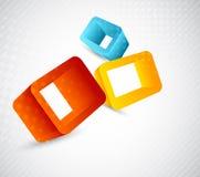 кубики предпосылки Стоковое фото RF