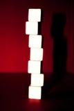 кубики рекламы Стоковые Изображения